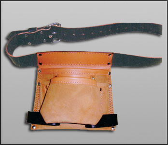 Heavy Single Leather Tool Pouch
