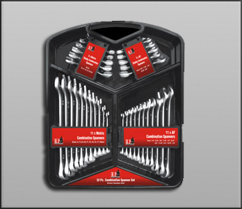 32 Pieces Combination Spanner Set Packing